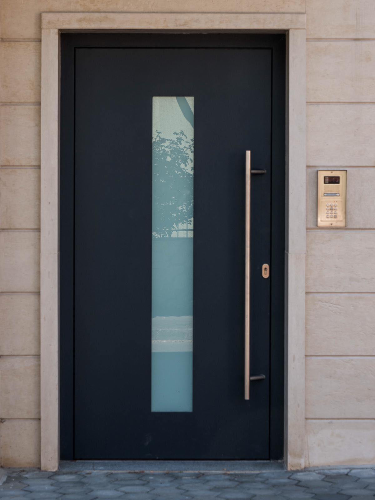 алуминиева входна врата за къща