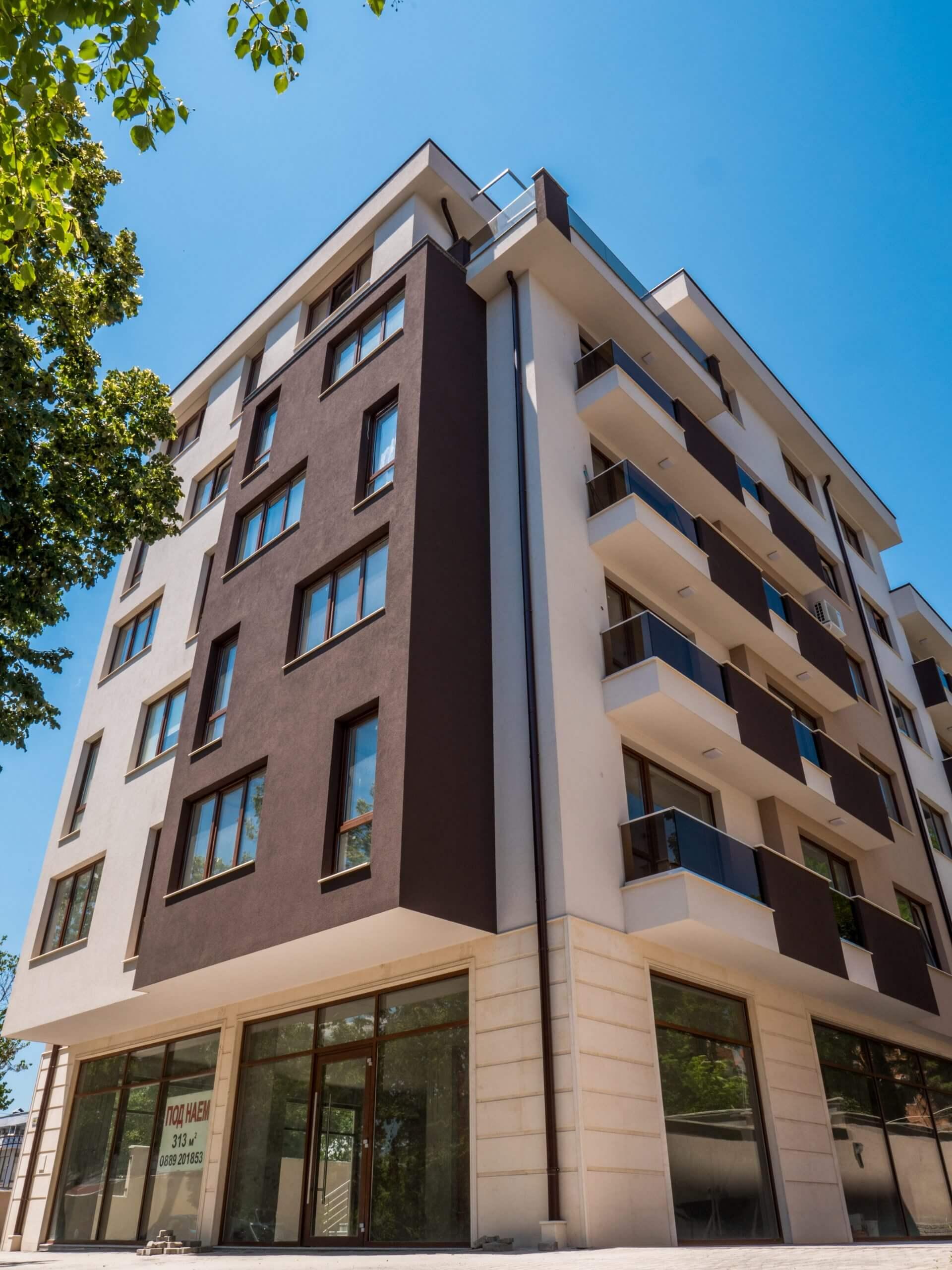 жилищна сграда дограма 2