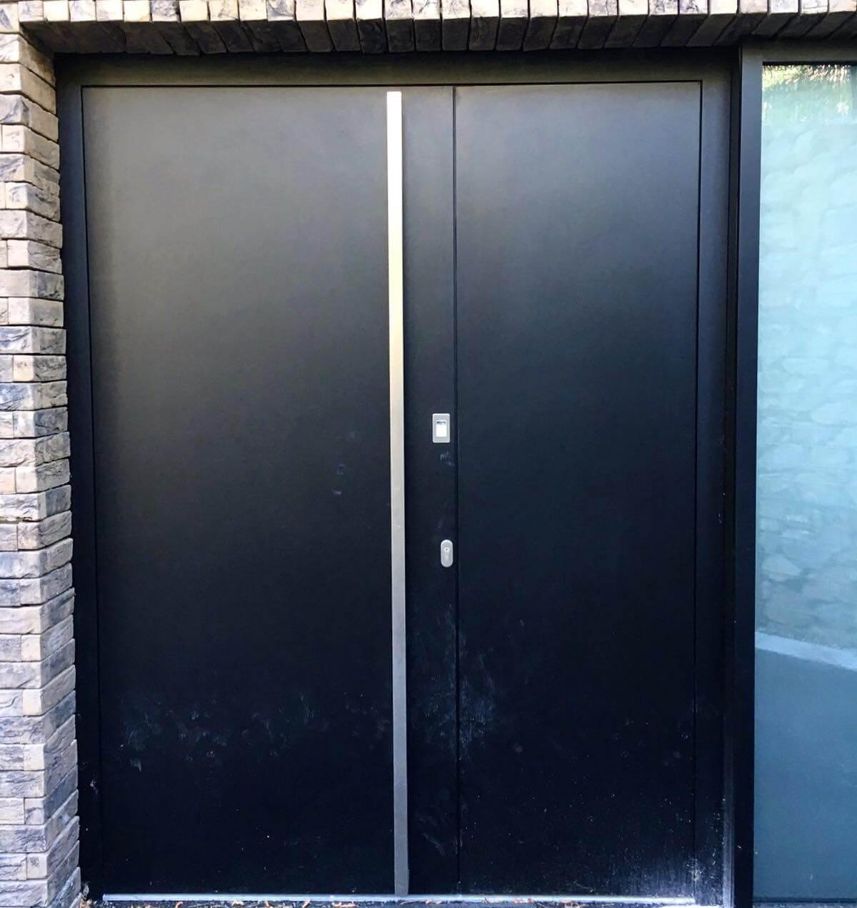 луксозни алуминиеви входни врати